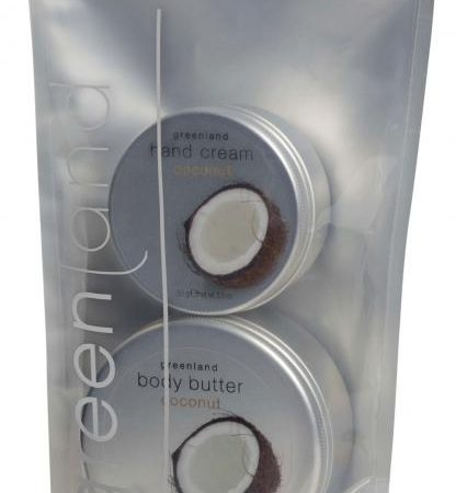 Pachet Promotional Greenland Crema de Maini + Unt de Corp cu Cocos