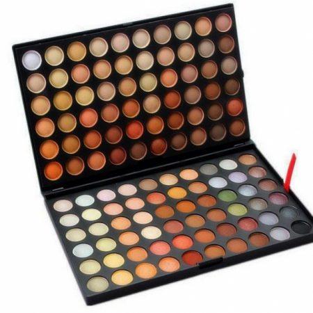 Trusa profesionala de farduri cu 120 culori neutre Neutral Nude P4
